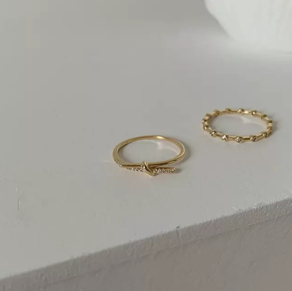 Stacked rings (bundle for free shipping)